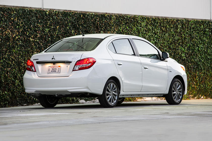 2020 Mitsubishi Mirage G4 Sedan Rear View