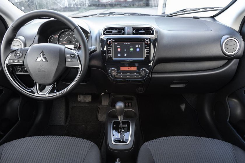 2020 Mitsubishi Mirage G4 Sedan Dashboard