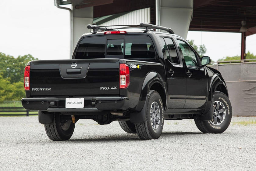 2018 Nissan Frontier King Cab Rear Angle View