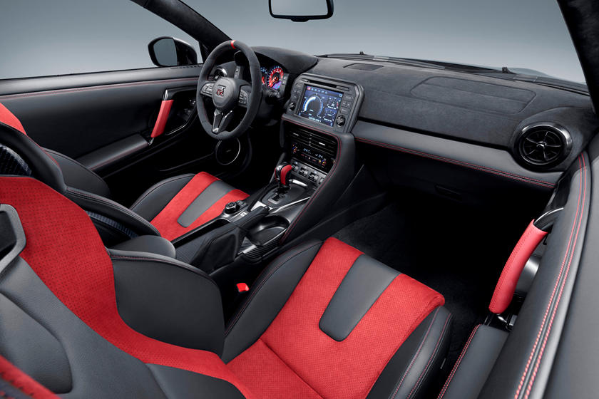 2020 Nissan GT-R NISMO Coupe Interior