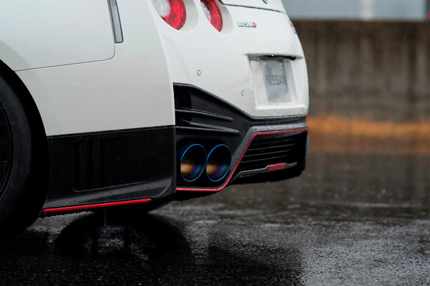 2020 Nissan GT-R NISMO Coupe Exhaust