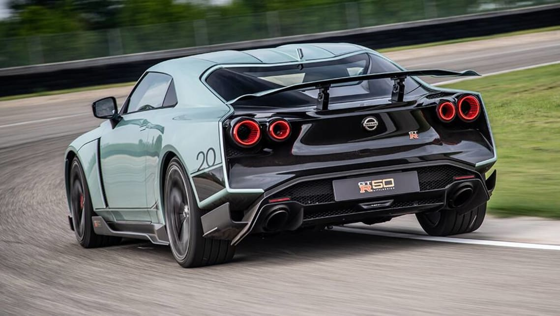 2021 Nissan GT-R Coupe Rear View