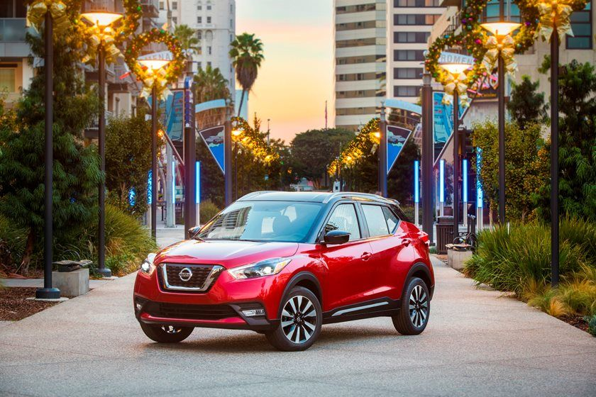 2020 Nissan Kicks Crossover Front View