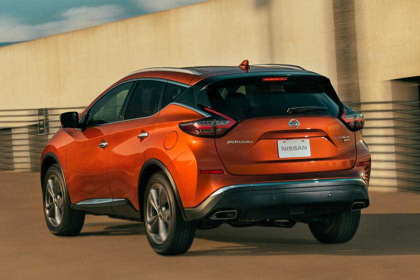 2021 Nissan Murano rear third quarter view