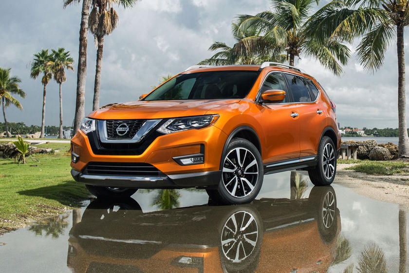 2020 Nissan Rogue SUV Front View