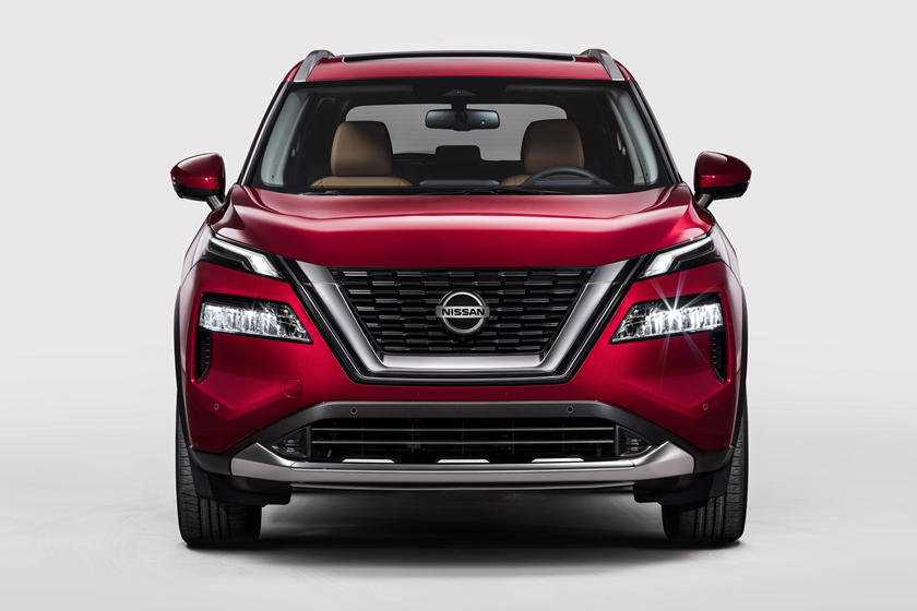 2021 Nissan Rogue SUV Front View