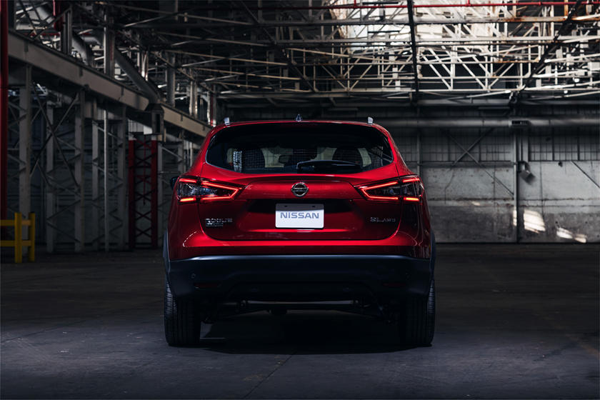2021 Nissan Rogue Sport SUV rear view