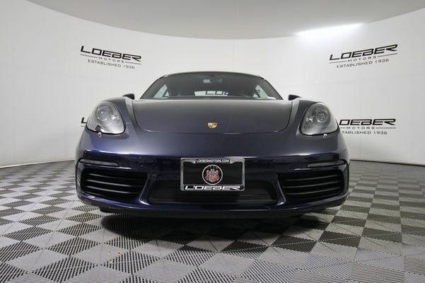 2021 Porsche 718 Cayman Coupe front view