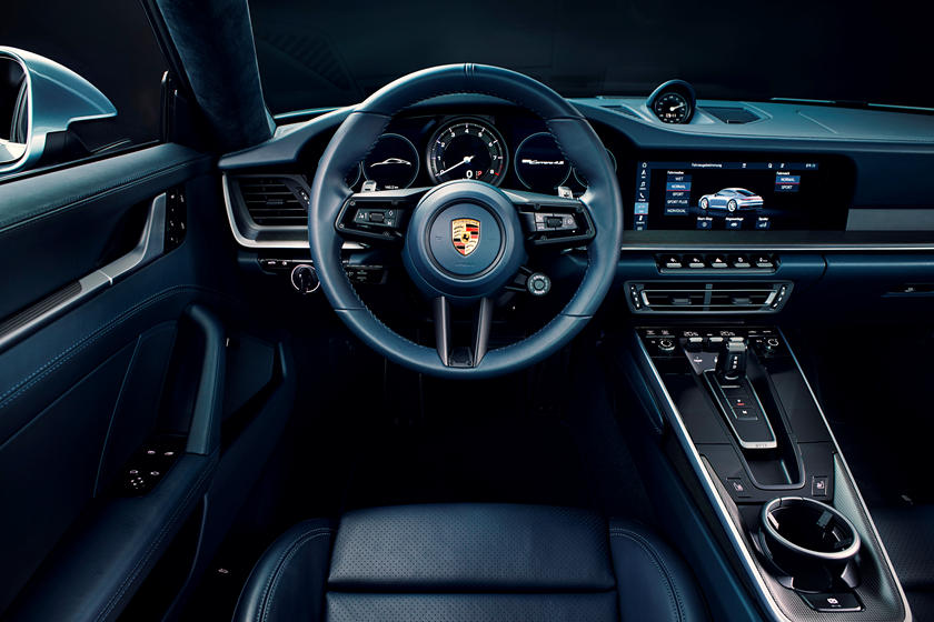 2020 Porsche 911 Carrera S Coupe Steering Wheel