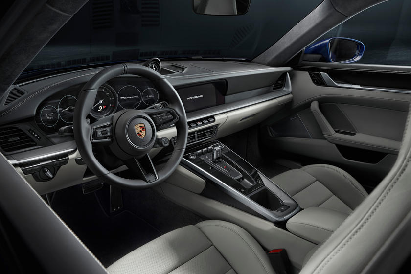 2020 Porsche 911 Carrera S Coupe Dashboard