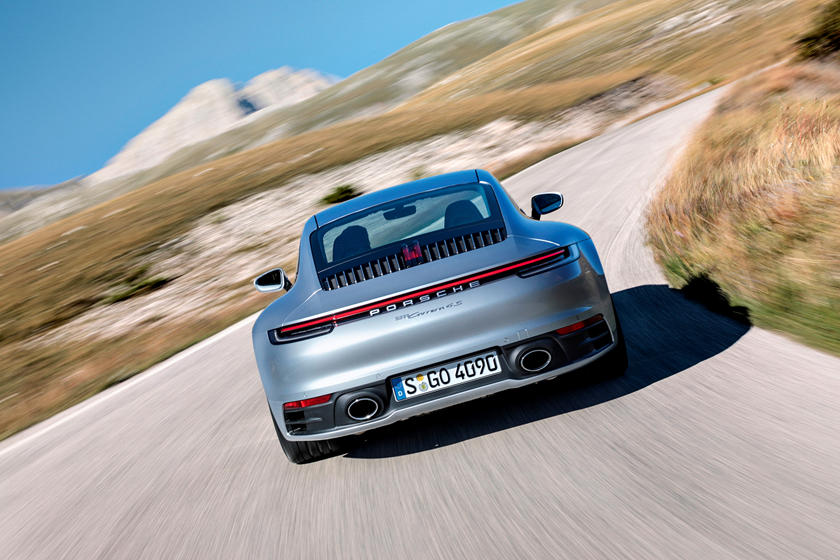 2020 Porsche 911 Carrera S Coupe Rear View