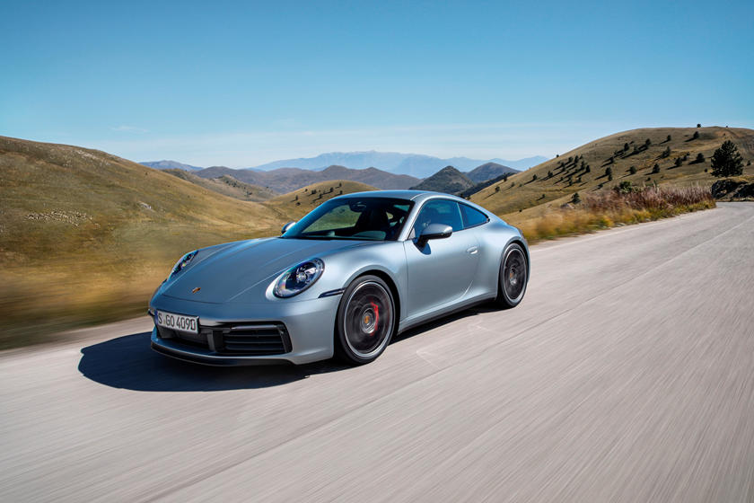 2020 Porsche 911 Carrera S Coupe 3rd Quarter View