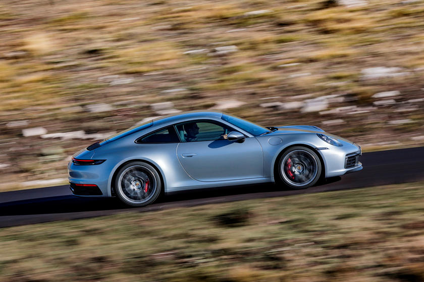 2020 Porsche 911 Carrera S Coupe Side View