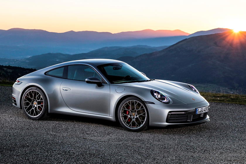 2020 Porsche 911 Carrera S Coupe Front View