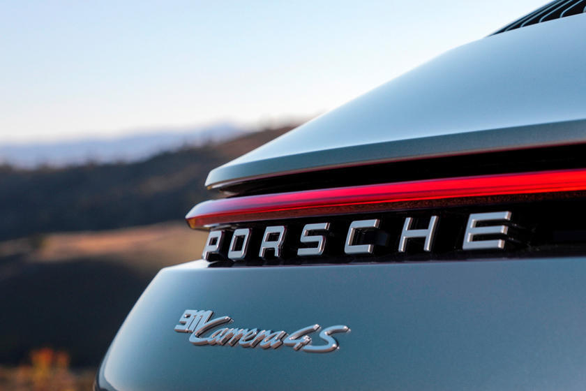 2020 Porsche 911 Carrera S Coupe Rear Bumper
