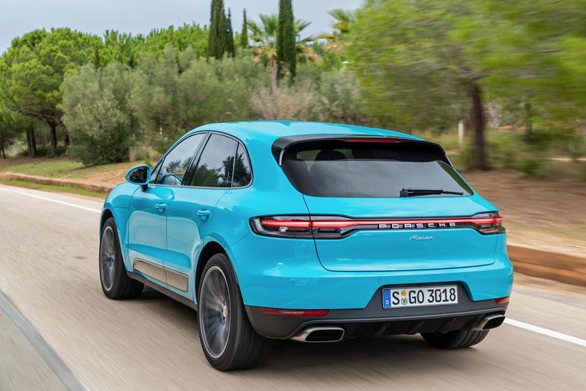 2020 Porsche Macan SUV Rear View