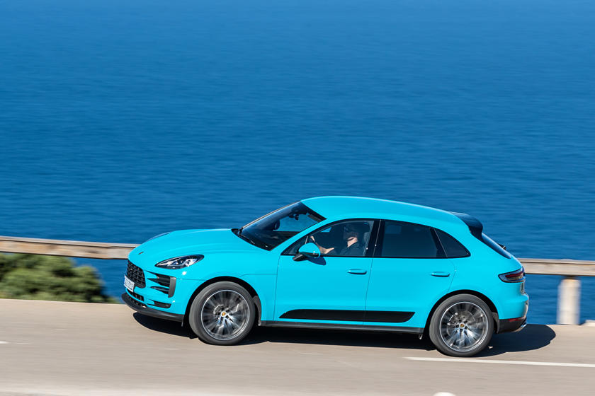 2020 Porsche Macan SUV Side View
