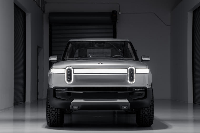 2021 Rivian R1T front view