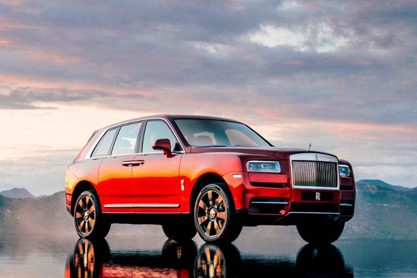 2020 Rolls-Royce Cullinan SUV Front View