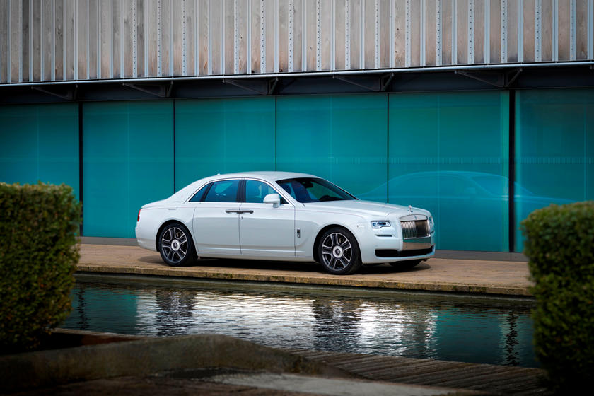 2020 Rolls Royce Ghost Sedan Exterior