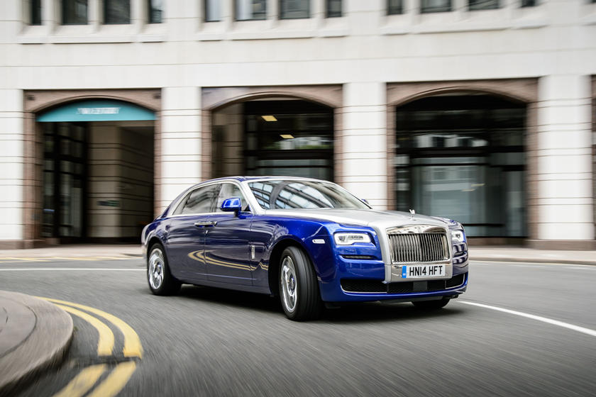 2020 Rolls-Royce Ghost Sedan Front View