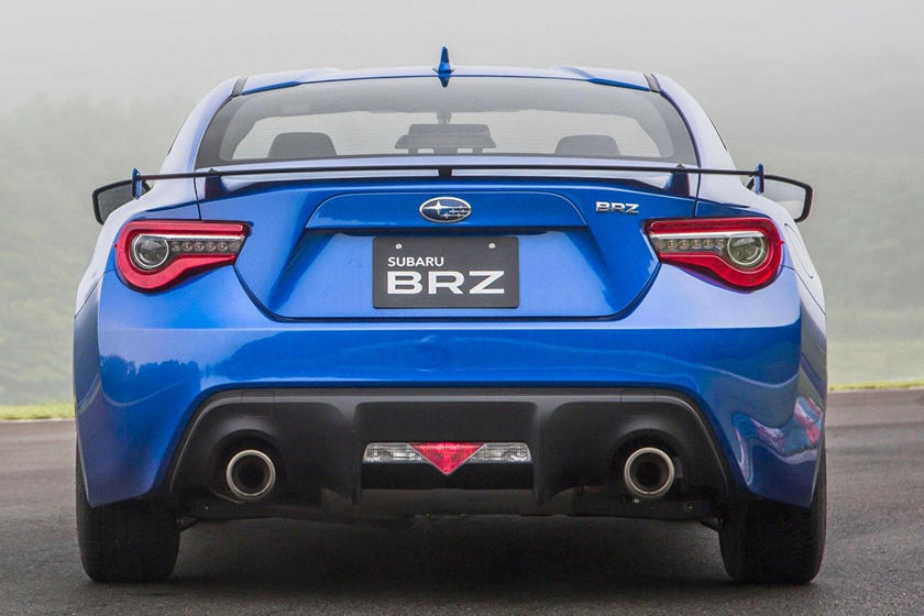 2020 Subaru BRZ rear view