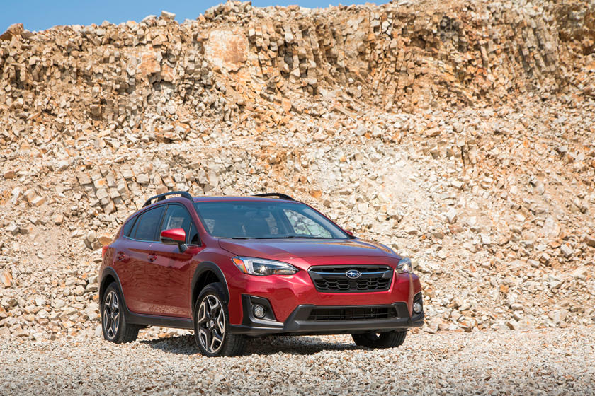 2020 Subaru Crosstrek three quarter view