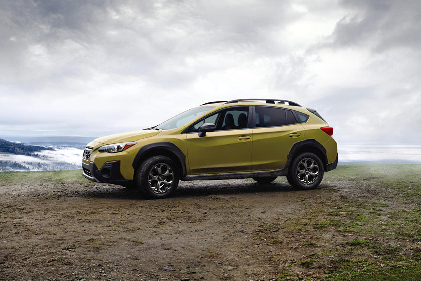 2021 Subaru Crosstrek SUV Side View
