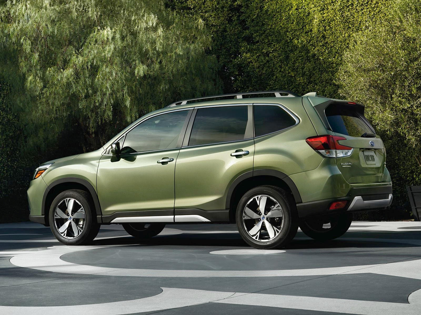 020 Subaru Forester Crossover Side View