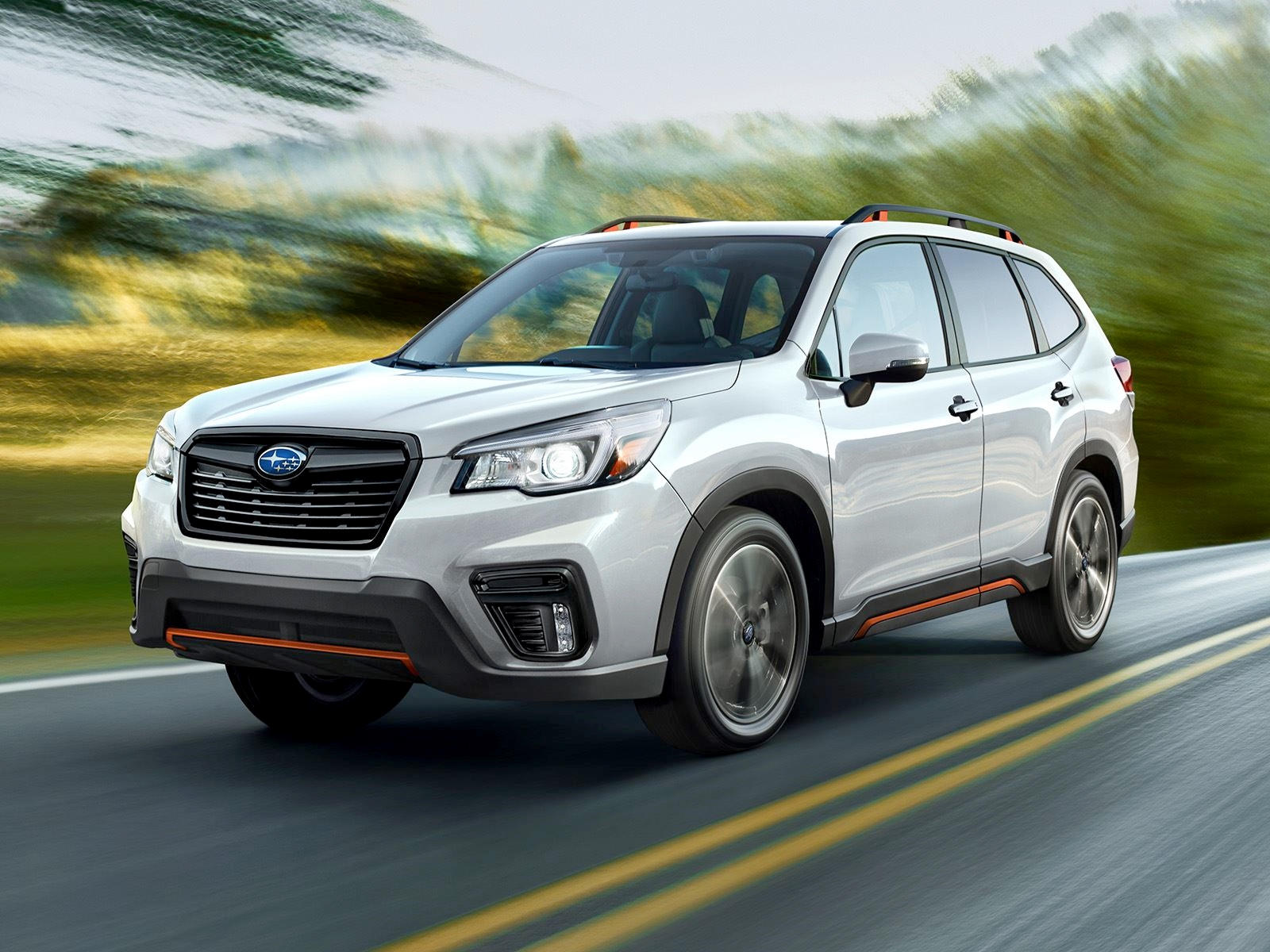 020 Subaru Forester Crossover Front view