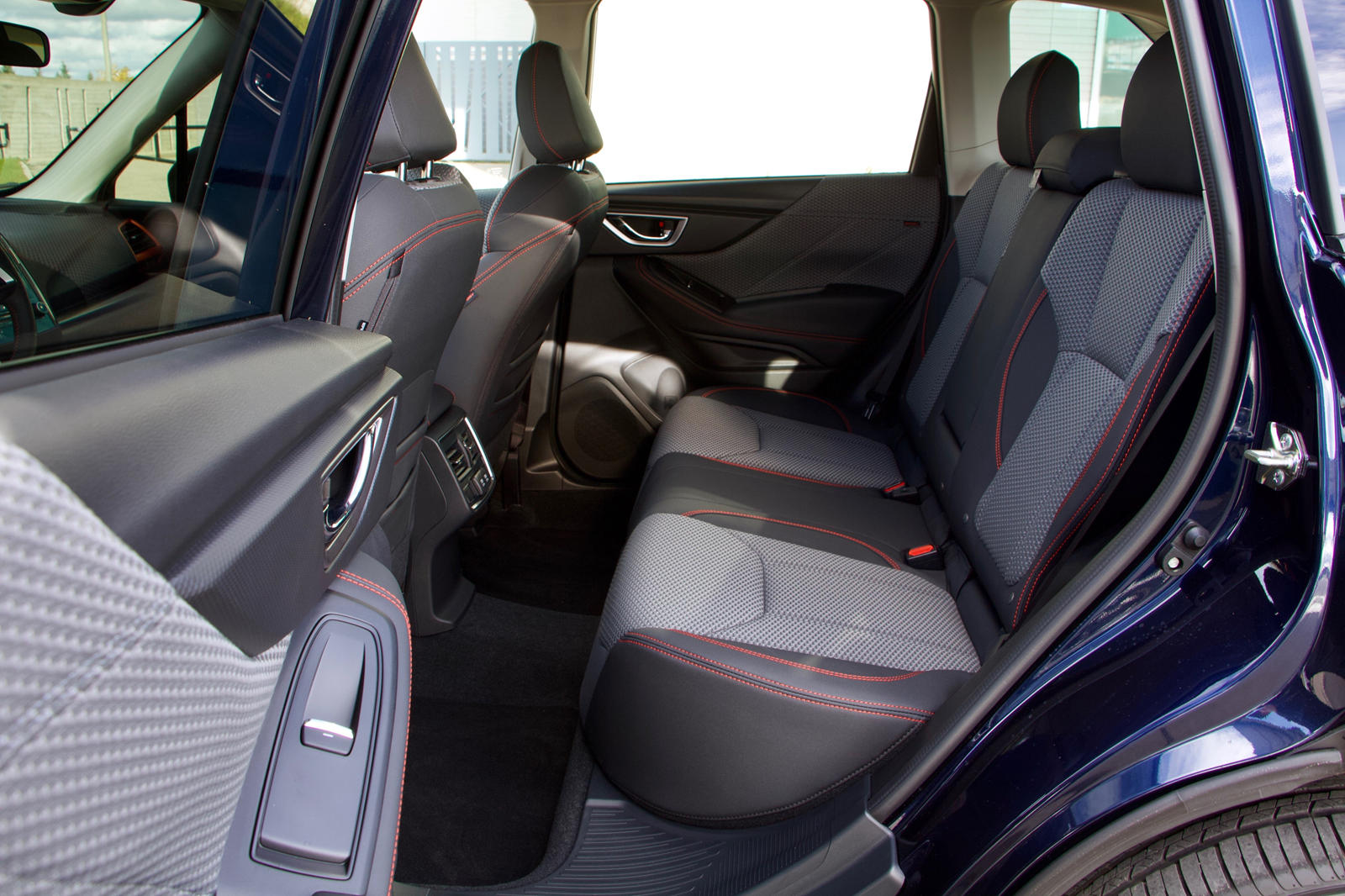 020 Subaru Forester Crossover rear seat
