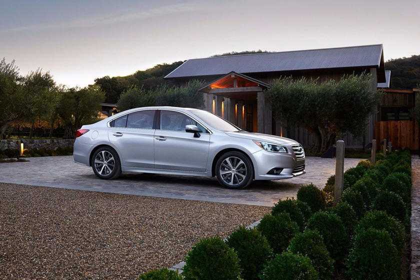 2020 Subaru Legacy Sedan side view