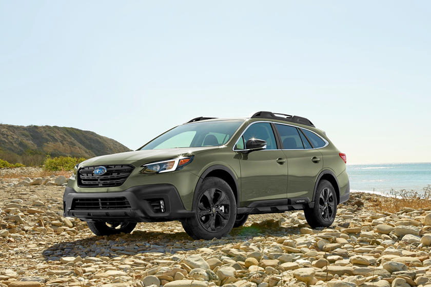 2020 Subaru Outback SUV Front View