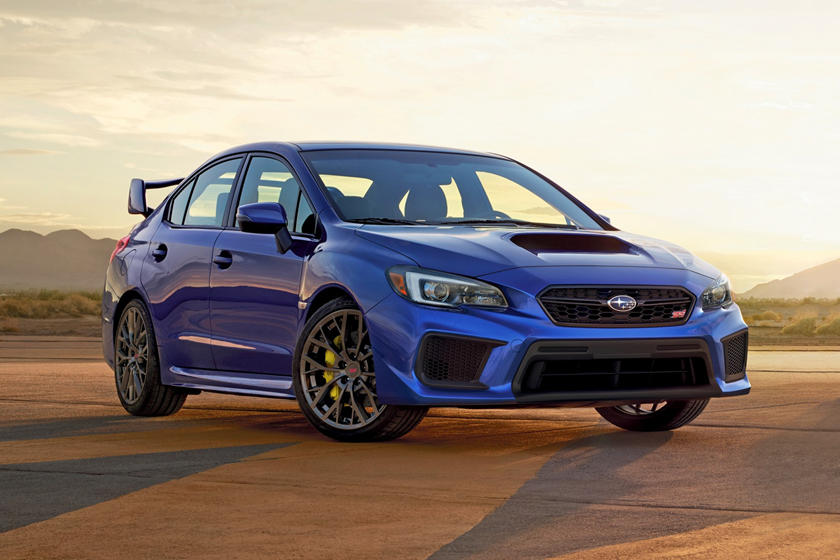 2021 Subaru WRX STI Sedan Front View