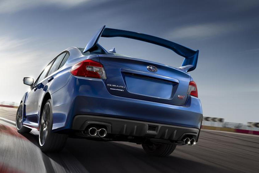2021 Subaru WRX STI Sedan Rear View