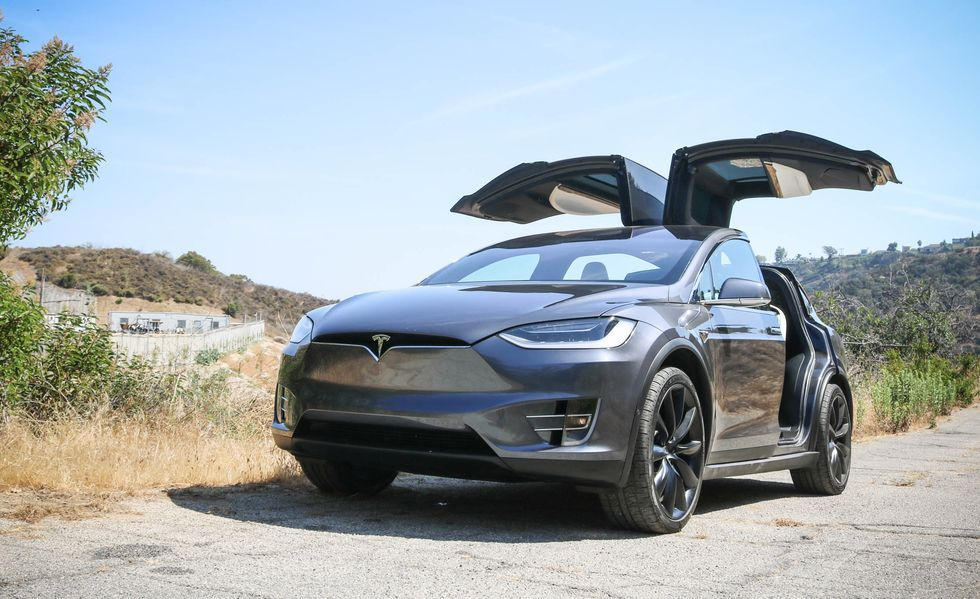 2020 Tesla Model X electric Crossover Exterior
