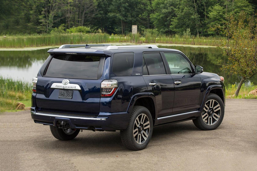 2020 Toyota 4Runner SUV Rear View