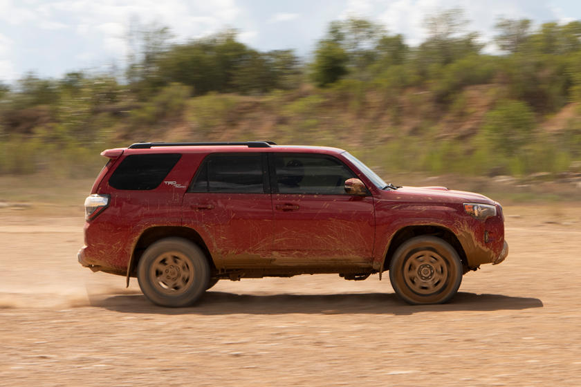 2020 Toyota 4Runner SUV Side View
