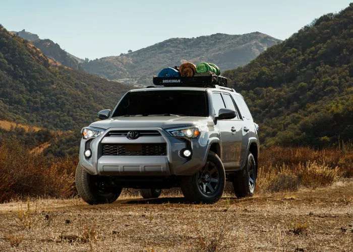 2021 Toyota 4Runner SUV Front View