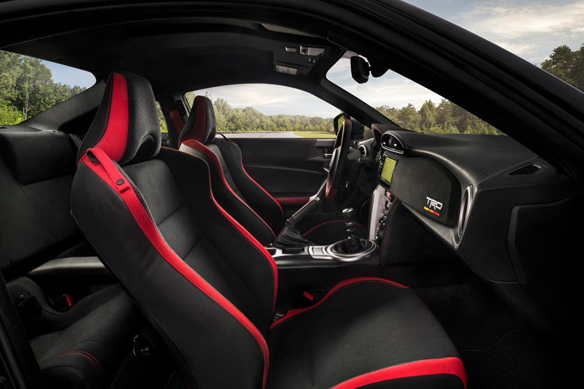 2020 Toyota 86 front seat