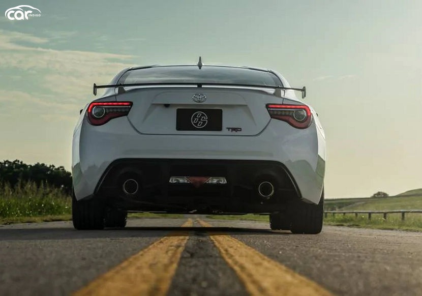2022 Toyota 86 Coupe rear view