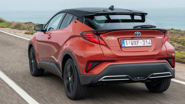 2020 Toyota C-HR SUV Rear View