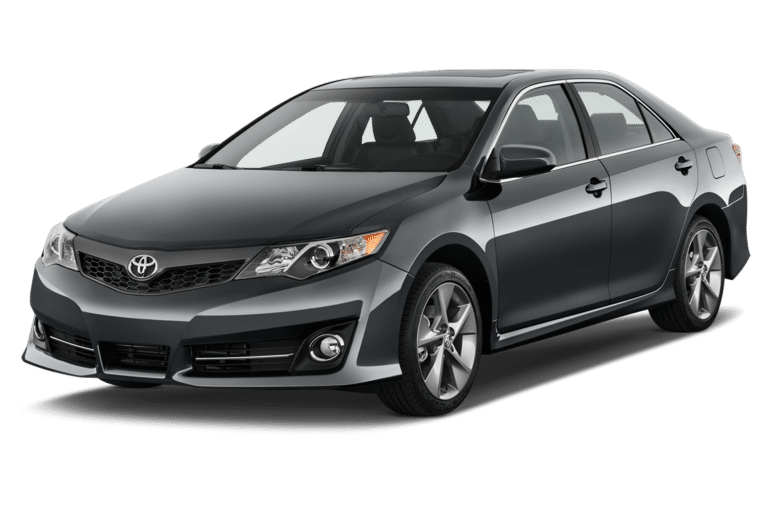 2014 Toyota Camry front three-quarter view