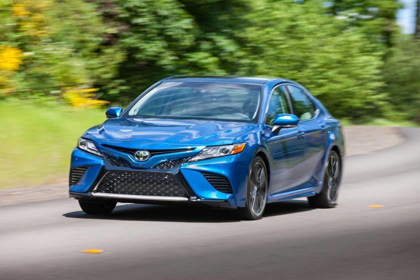 2021 Toyota Camry Sedan front view