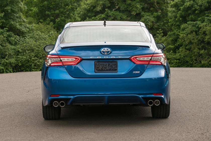 2022 Toyota Camry Rear View