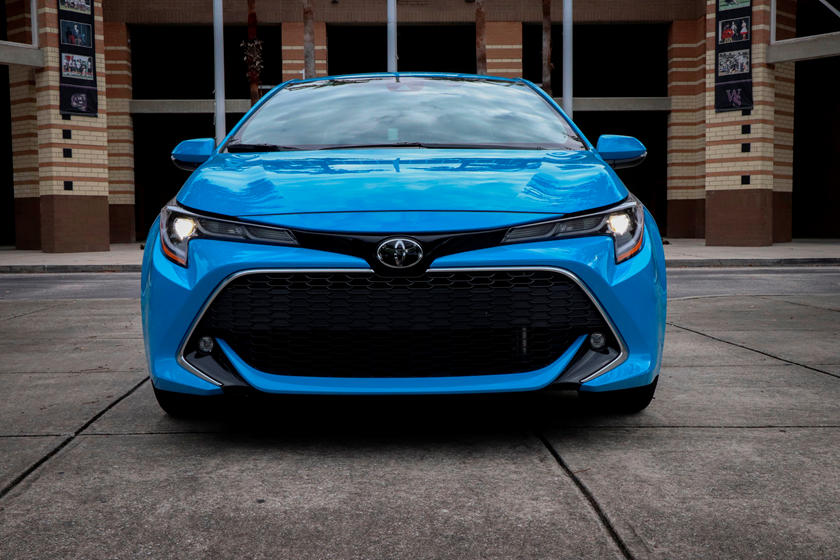 2020 Toyota Corolla Hatchback Front View