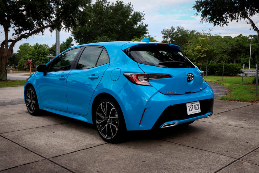 2020 Toyota Corolla Hatchback Rear view