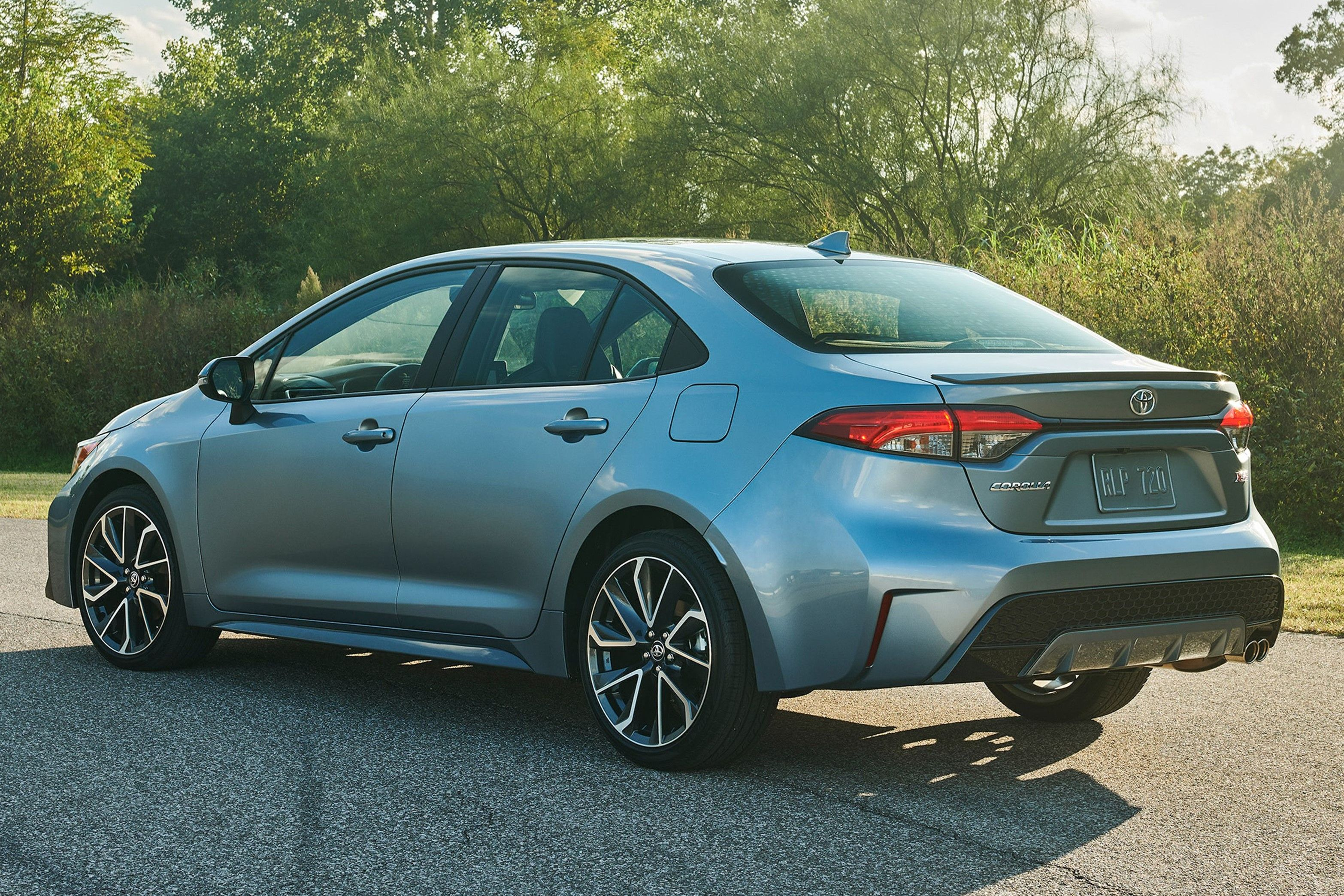 2021 Toyota Corolla Sedan Rear and side View