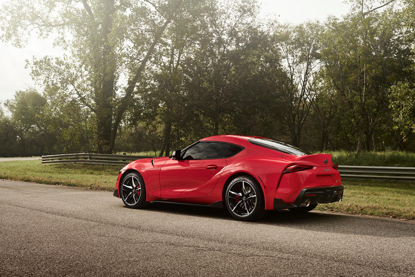 2020 Toyota GR Supra Coupe Rear