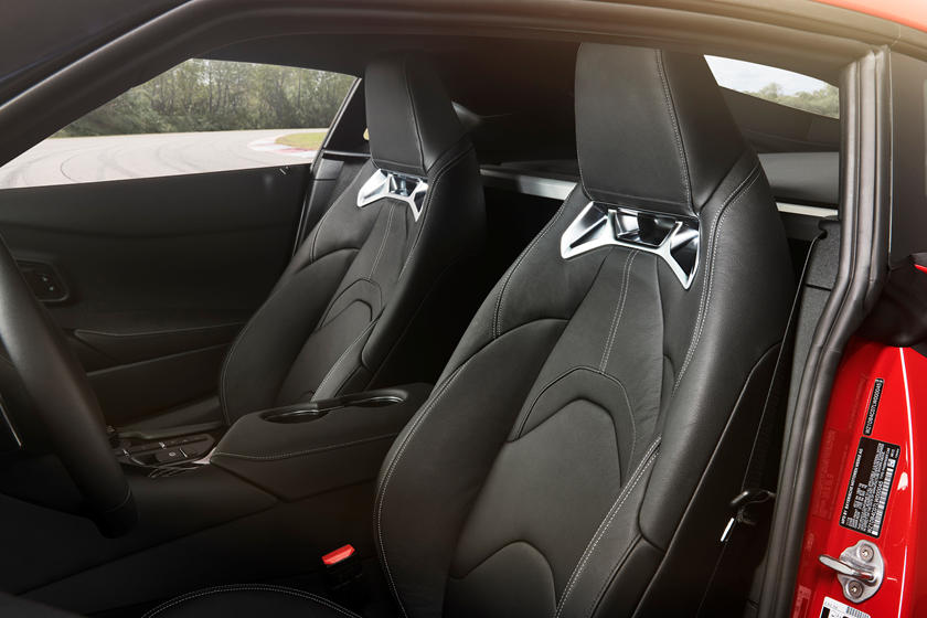 2020 Toyota GR Supra Coupe Front Seats